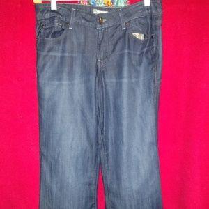 Level 99 Women's Jeans Dark Denim Size 30 NWOT